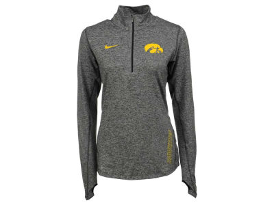 Iowa Hawkeyes Nike NCAA Women's Stadium Element 1/4 Zip Pullover Shirt
