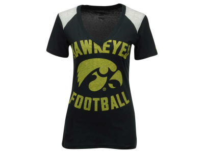 Iowa Hawkeyes Nike NCAA Women's Stadium Football T-Shirt