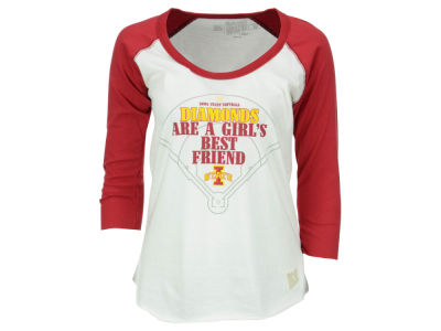 Iowa State Cyclones NCAA Women's Softball Diamond Best Friend Raglan T-Shirt