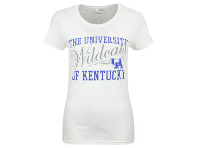 Kentucky Wildcats Women's Arch Cursive Split T-shirt