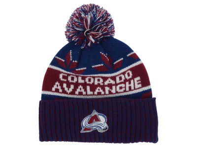 Colorado Avalanche Old Time Hockey NHL Dasher Pom Knit