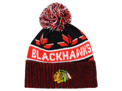 Chicago Blackhawks Old Time Hockey NHL Dasher Pom Knit
