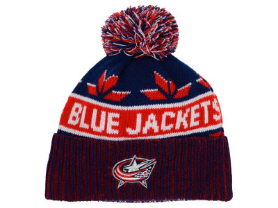 Columbus Blue Jackets Old Time Hockey NHL Dasher Pom Knit