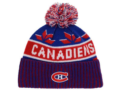 Montreal Canadiens Old Time Hockey NHL Dasher Pom Knit