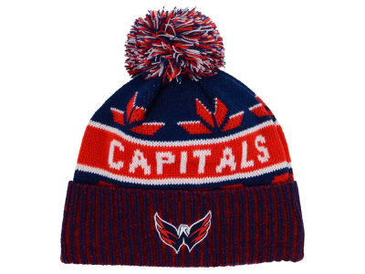 Washington Capitals Old Time Hockey NHL Dasher Pom Knit