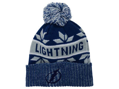 Tampa Bay Lightning Old Time Hockey NHL Dasher Pom Knit