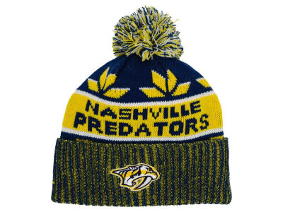 Nashville Predators Old Time Hockey NHL Dasher Pom Knit