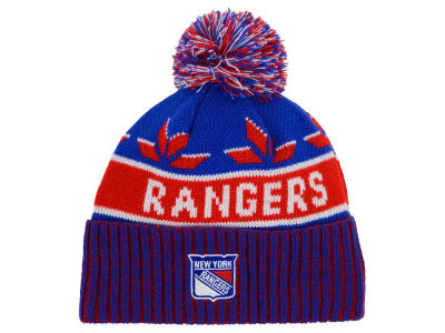 New York Rangers Old Time Hockey NHL Dasher Pom Knit
