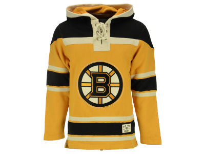 Boston Bruins NHL Men's Alternate Lacer Jersey Hoodie