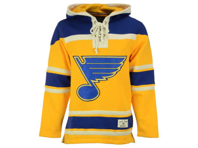 St. Louis Blues NHL Men's Alternate Lacer Jersey Hoodie