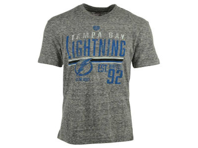 Tampa Bay Lightning Old Time Hockey NHL Men's Combine Tri-Blend T-Shirt