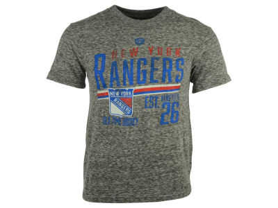 New York Rangers NHL Men's Combine Tri-Blend T-Shirt
