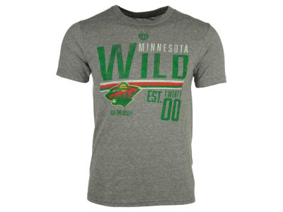 Minnesota Wild NHL Men's Combine Tri-Blend T-Shirt