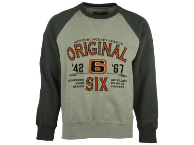NHL Original 6 NHL Men's Clermont Crew Neck Sweatshirt