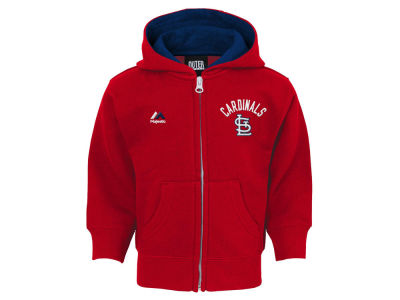 St. Louis Cardinals MLB Toddler Basic Play Full Zip Hoodie