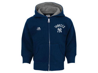 New York Yankees MLB Toddler Basic Play Full Zip Hoodie