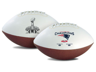 New England Patriots Super Bowl Champs 2015 Event Mini Football