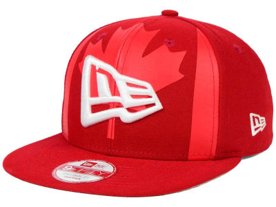 Canada Canada Branded Flag Front 9FIFTY Original Fit Snapback Cap