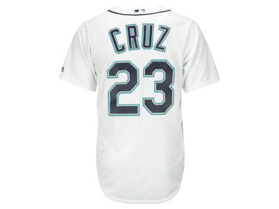 Seattle Mariners Nelson Cruz Majestic MLB Men's Player Replica CB Jersey