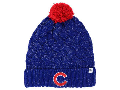 Chicago Cubs '47 MLB Women's '47 Fiona Pom Knit