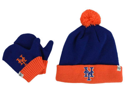 New York Mets '47 MLB Toddler '47 Bam Bam Knit Set