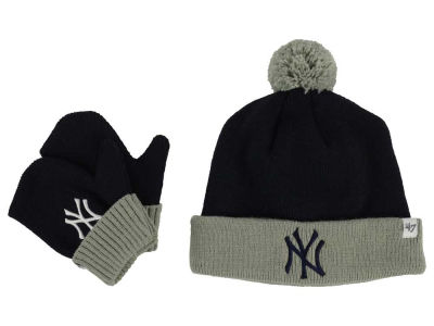 New York Yankees '47 MLB Toddler '47 Bam Bam Knit Set
