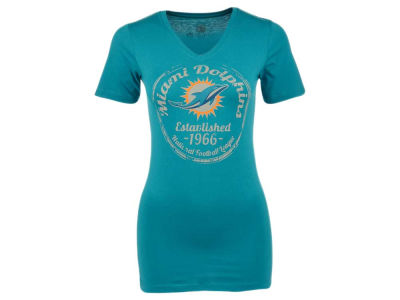 Miami Dolphins NFL Women's Circled T-Shirt