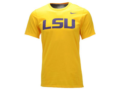 LSU Tigers Nike NCAA Men's Cotton Wordmark T-Shirt