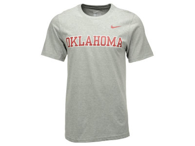 Oklahoma Sooners Nike NCAA Men's Cotton Wordmark T-Shirt