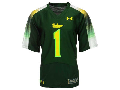 South Florida Bulls #1 Under Armour NCAA Men's Special Game Replica Jersey