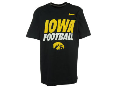 Iowa Hawkeyes Nike NCAA Youth Cotton Travel T-Shirt