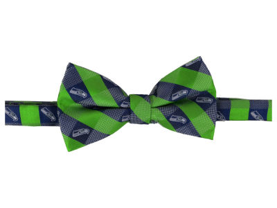 Seattle Seahawks Bow Tie Checkered Repeat