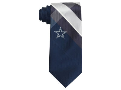 Dallas Cowboys Woven Poly Grid Tie