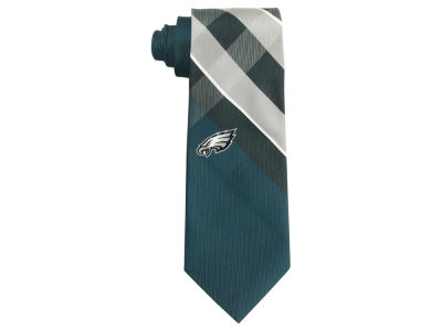 Philadelphia Eagles Woven Poly Grid Tie