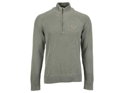 St. Louis Blues NHL Men's Excalibur 1/4 Zip Pullover Sweater
