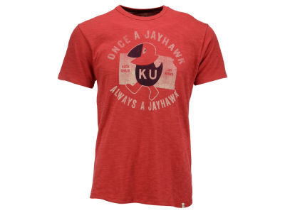 Kansas Jayhawks '47 NCAA Men's Once a Jayhawk Scrum T-Shirt