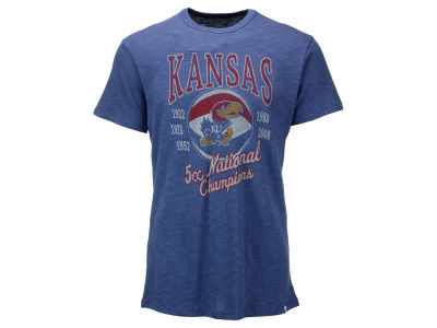 Kansas Jayhawks '47 NCAA Men's 5x National Champ Scrum T-Shirt