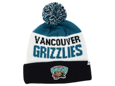 Vancouver Grizzlies '47 NBA '47 Crossblock Cuff Knit