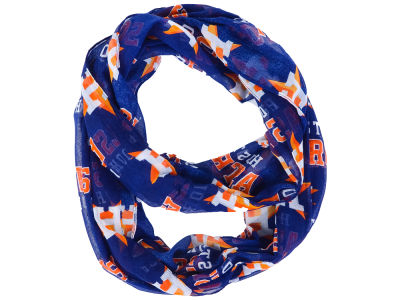 Houston Astros All Over Logo Infinity Wrap Scarf