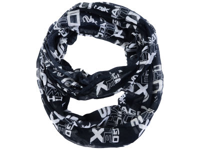 Chicago White Sox All Over Logo Infinity Wrap Scarf