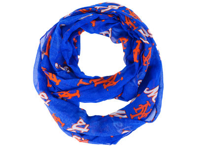 New York Mets All Over Logo Infinity Wrap Scarf