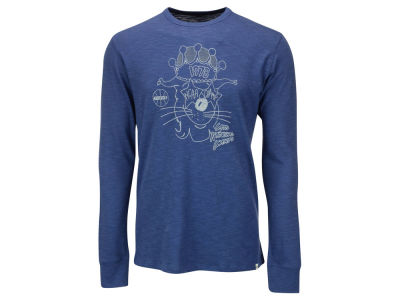 Kentucky Wildcats '47 NCAA Men's Retro Mascot Crown Long Sleeve Scrum T-Shirt