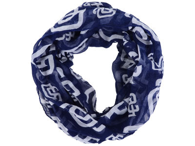San Diego Padres All Over Logo Infinity Wrap Scarf