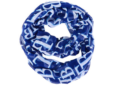 Tampa Bay Rays All Over Logo Infinity Wrap Scarf