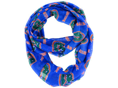 Florida Gators All Over Logo Infinity Wrap Scarf
