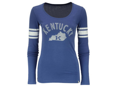 Kentucky Wildcats '47 NCAA Women's Arch and State Long Sleeve Homerun T-Shirt