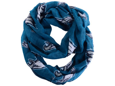 Philadelphia Eagles All Over Logo Infinity Wrap Scarf
