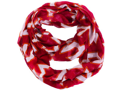 Virginia Tech Hokies All Over Logo Infinity Wrap Scarf