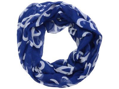 Atlanta Braves All Over Logo Infinity Wrap Scarf
