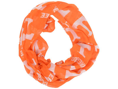 Tennessee Volunteers All Over Logo Infinity Wrap Scarf